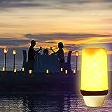 BOGAO E27 LED-Flamme Effekt Fire Glühlampen, Creative Leuchten mit flackerndem Emulation, Vintage Atmosphäre Deko, Simuliert Gas Hurricane Laterne, warm weiß, 5 Watt E27,1 PCS Test