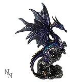Nemesis Now–Morado Overseer Figura decorativa de dragón–22cm