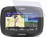 2 Stück GEHÄRTETE ANTIREFLEX Displayschutzfolie für Garmin Zumo 390LM Bildschirmschutzfolie