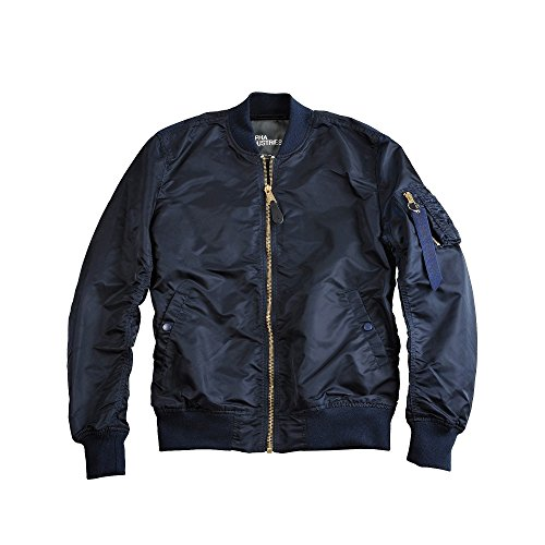 Alpha Industries MA-1 VF LW Jacket Bomberjacke 156101 rep.blue/gold