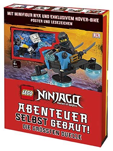 LEGO® NINJAGO® Abenteuer selbst gebaut! Die größten Duelle: Mit Minifigur und exklusivem LEGO® Modell, Poster und Lesezeichen