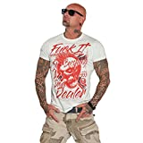 Yakuza Original Herren Drug Dealer T-Shirt - Spa Blue - XXL