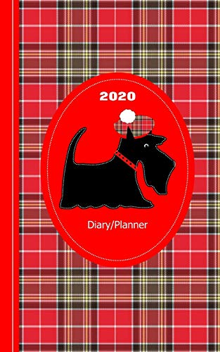 Scottish Tartan Terrier Dog: Diary Weekly Spreads January to December (Planners One Year 2020, Band 1) -