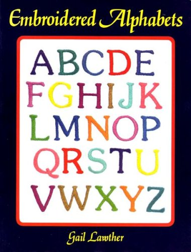 Embroidered Alphabets PDF Books