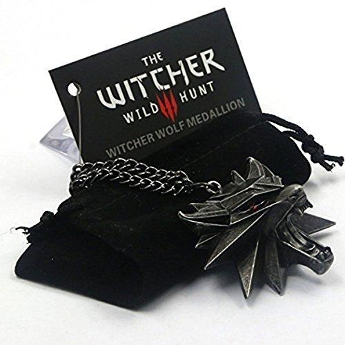 Preisvergleich Produktbild Mode Wolf Kopf Halskette 3D Sammler Edition