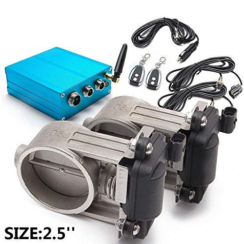 epman tk-cut001a25d-dz 6,3cm Dual Auspuff Ventil mit elektrisch Control Box für Auspuff Catback Fallrohr -