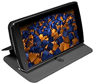 mumbi Ultra Slim Bookstyle Tasche für Nexus 5 Hülle (Standfunktion / Aufstell-Funktion)
