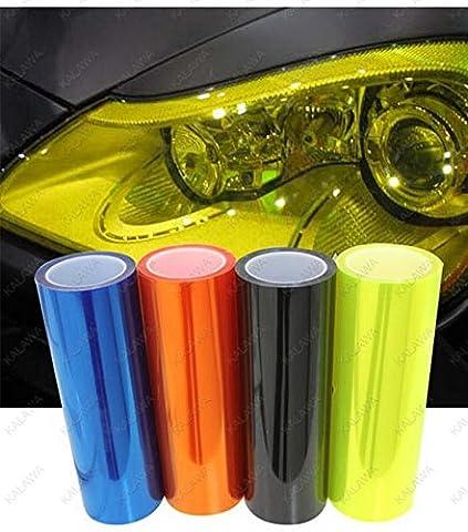 Auto Folie: Auto Film Den Scheinwerfer Film Schwanz Lampe Transparent Gefrostet Lampe Farbe ÄndernOberflächlich Schwarz