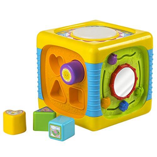 WinFun - Cubo actividades para bebé con luz y sonido...