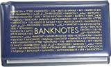 Taschenalbum für Banknoten blau