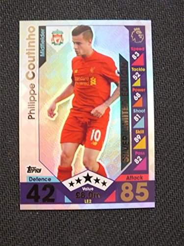 match-attax-2016-17-limited-edition-card-le2-philippe-coutinho-silver