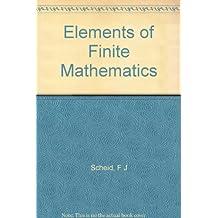 Elements of Finite Mathematics