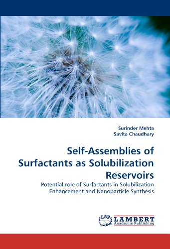 Self-Assemblies of Surfactants as Solubilization Reservoirs: Potential role of Surfactants in Solubilization Enhancement and Nanoparticle Synthesis -