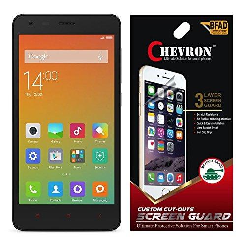 Chevron Ultra Clear HD Screen Guard For Xiaomi Redmi 2 / Mi Redmi 2 Prime