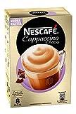 Nescafé Cappuccino Choco Preparato Solubile in Polvere con Caffè Latte e Cacao - 3 confezioni da 8 buste da 18 g [24 buste, 432 g]