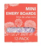 MayaBeauty Mini Emery Board 12 pack - Purple
