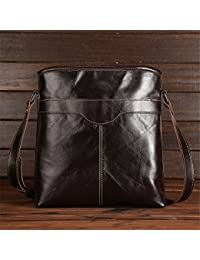 WanJiaMen'Shop Leder ist Einfach Business Men Bag Umhängetasche Vertikale Tasche Business Package 28 x 9 x 30,5 cm - preisvergleich