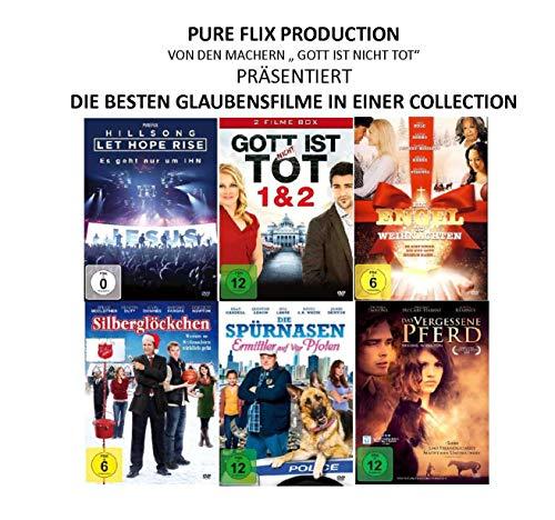 PURE FLIX - Glaubensfilme ( von den Machern von Gott ist nicht tot ) [6 DVDs]