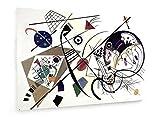 Wassily Kandinsky - Durchgehender Strich - 1923-120x80 cm - Textil-Leinwandbild auf Keilrahmen - Wand-Bild - Kunst, Gemälde, Foto, Bild auf Leinwand - Alte Meister/Museum