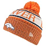 New Era ONF18 Sport Knit Bommelmütze Denver Broncos Orange, Size:ONE Size