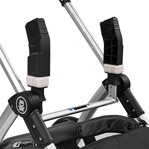 Froggy Adapter für Babyschale Maxi Cosi Cybex Joie für MAGICA Kinderwagen Kinderwagenzubehör Babyschalen Adapter Autositz
