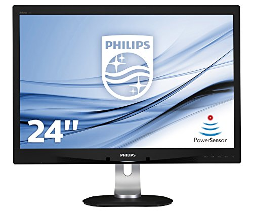 Philips 240B4QPYEB/00 24-Inch LED Monitor (1920x1200, DVI)