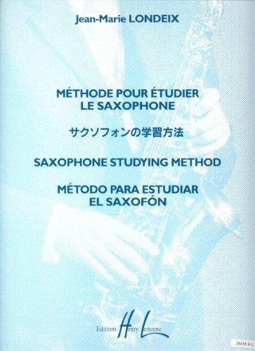 Méthode pour étudier le saxophone