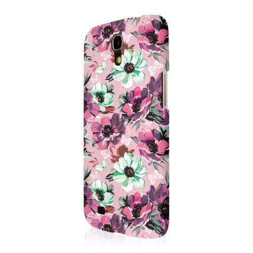 Empire Signature Serie Slim-Fit Schutzhülle für Samsung Galaxy Mega 6.3–Vintage Pink Flower