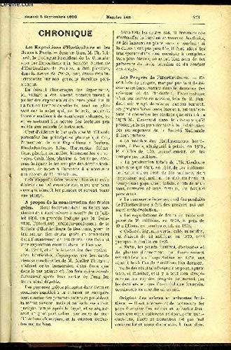 LE PETIT JARDIN ILLUSTRE N° 148 - Chronique ; Faise
