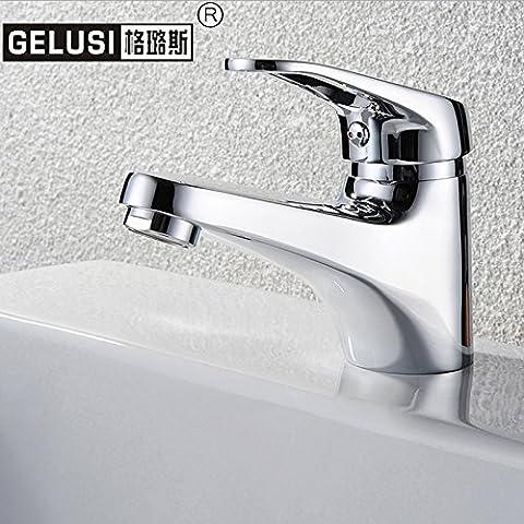 TapsosoTutti rame Acqua calda e fredda miscelata con 801-1 Water-Saving rubinetto di lavello