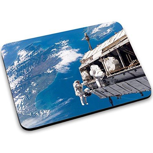 Weltraum 10013, Raumfahrzeug, Mousepad Anti Rutsch Unterseite für Optimalen Halt Kompatibel mit allen Maustypen (Kugel, Optisch, Laser) Ideal für Gamer und für Grafikdesigner.