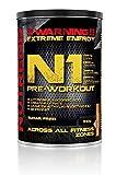 Nutrend N1 510g Orange Flavour pre-workout, Beta-alanine, AAKG Taurine DMAE