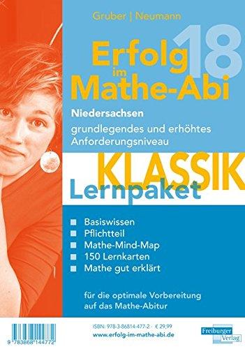 Erfolg im Mathe-Abi 2018 Lernpaket \'Klassik\' Niedersachsen: mit der Original Mathe-Mind-Map