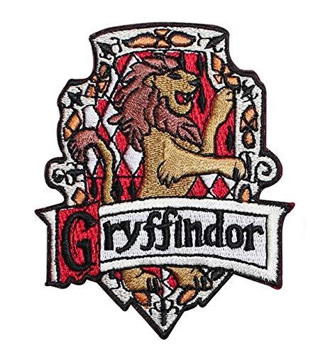 Parche bordado con diseño de Griffindor