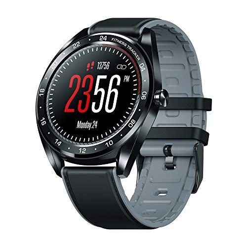 Smartwatch, 1,3 Zoll Fitness Armband mit Herzfrequenz, Blutdruck und Schlaf Überwachung, IP67 Wasserdicht Fitness Tracker, 240 x 240 hohe Auflösung, Herren Damen Smartwatch für IOS Android