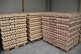 Holzbrikett 960 kg auf Einwegpalette, Briketts 299 Euro +3 Euro Versand