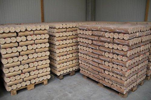 Preisvergleich Produktbild Holzbrikett 960 kg auf Einwegpalette, Briketts 299 Euro +3 Euro Versand