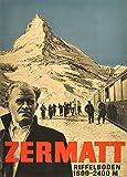 Vintage Travel Schweiz für Zermatt und riffleboden bei