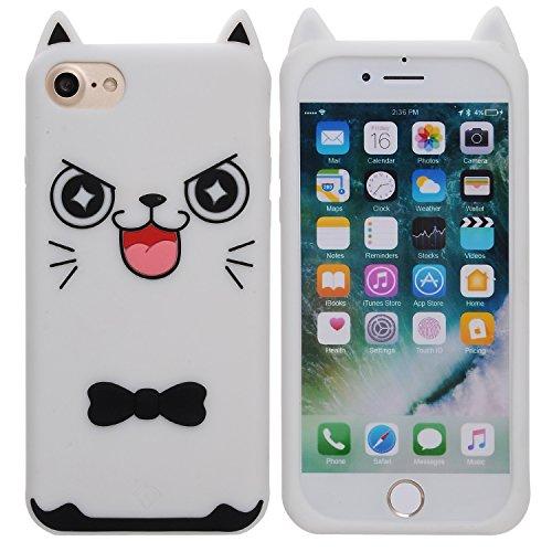 iPhone 711,9cm Fall, Phenix-Color 3D Cute Cartoon Soft Hello Kitty Silikon Gel Back Cover Case für iPhone 711,9cm (2016Release) Fall AMP Prime, 04