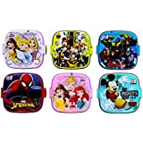 PERPETUAL BLISS™ (PACK OF 12) FANCY DISNEY THEME SQUARE, DOUBLE LAYER LUNCH BOX FOR KIDS, BEST RETURN GIFTS ONLINE FOR KIDS BIRTHDAY PARTY Product Dimension (L x W x H)CM : 13 x 13 x 10 (FOR MORE GIFTS SEARCH FOR PERPETUAL BLISS™)