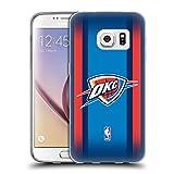 Officiel NBA Gradient De Demi-Teinte Oklahoma City Thunder Étui Coque en Gel Molle pour Samsung Galaxy S7