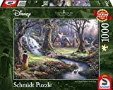 Schmidt Spiele Puzzle 59485 Thomas Kinkade, Disney Schneewittchen, 1.000 Teile Puzzle