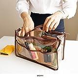 Clear Handbag Organizer See Through Cosm...
