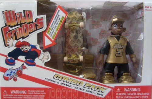 4201b7852e7a8 Rob Dyrdek Wild Grinders Jay Jay Gold Combo Pack with DVD by Wild Grinders