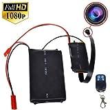 Electro-Weideworld - 1920x1080P HD Portable Caméra Espion Module Activé par le Mouvement Vidéo Enregistreur Mini DV Caméscope avec Audio Enregistrement