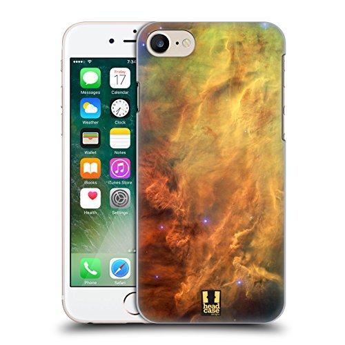 Head Case Designs Porcelaine Texturée Papiers - Croix Étui Coque en Gel molle pour Apple iPhone 7 / iPhone 8 Nébuleuse De Lagune Stellaire