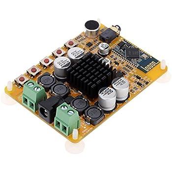 KKmoon Amplificateur Module Numérique Sans Fil, 4.0 50W+50W, 2 Canaux Bluetooth 4.0 Récepteur Audio