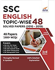 SSC English Topic-wise 48 Solved Papers (2010 - 2019) 3rd Edition