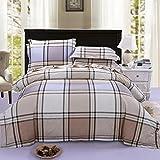 Sucastle,Bettwäsche Eine Vierköpfige Familie Fashion Bedding,cotton,Bed width:180cm