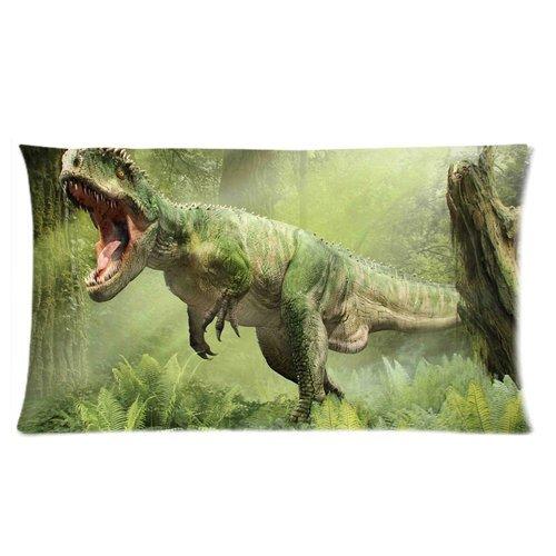 Trendsetter Dinosaurier Tierart Custom Kissenbezüge Kissen Kissen Fall Home Dekorative Kissenbezug Standard größe 20x 30(Zwei Seiten)